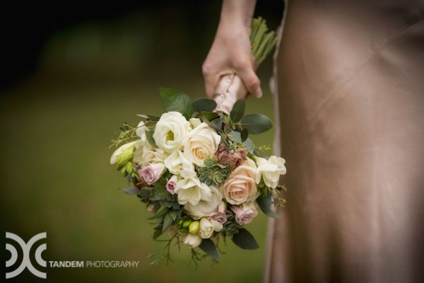 Tandem Photography Wedding Photographer Florals by Mrs Bottomley's Flowers, Christchurch