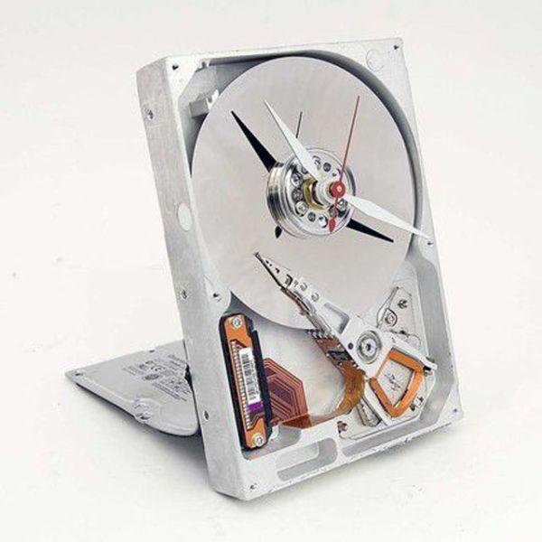 Festplatten Uhr