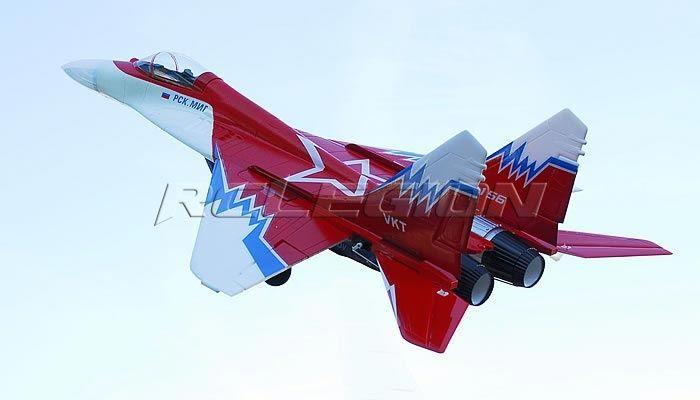 Радиоуправляемая модель самолета MIG-29 (RTF) (нажмите, что бы увеличить фото)