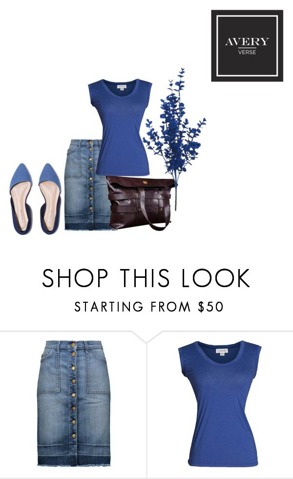 """The Industrial Tote"" by averyverse ❤ liked on Polyvore featuring Current/Elliott, Velvet by Graham & Spencer, coffee, largetote and averyverse"