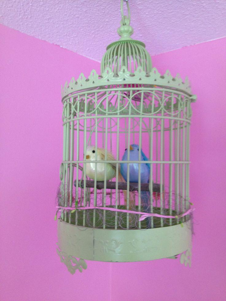 vogelkooitje meisjeskamer