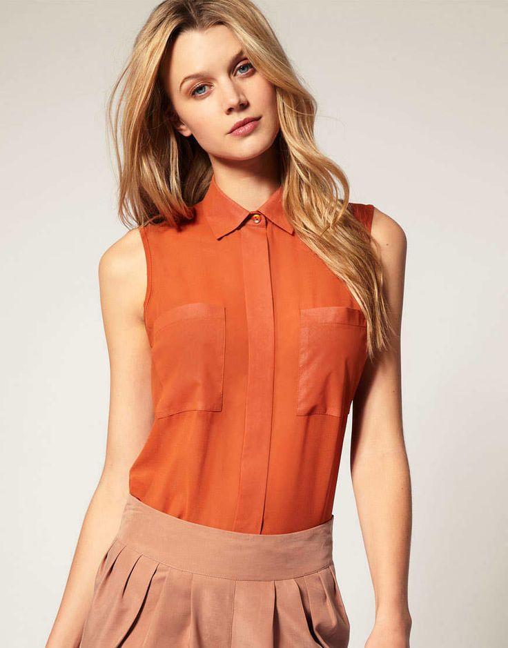 17 mejores ideas sobre Modelos De Blusas Elegantes en Pinterest ...