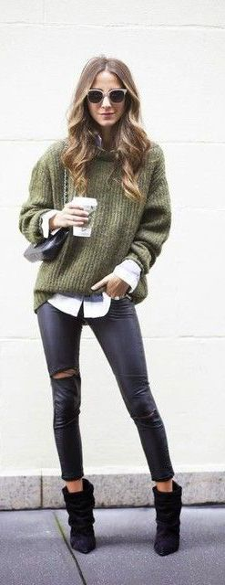Sweater + Skinnies