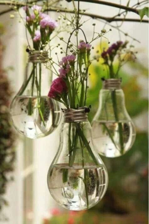 Recycled light bulbs