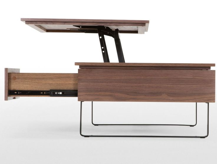 Flippa Functional Coffee Table With Storage Walnut Furniture Storage Ideas And Coffee Table
