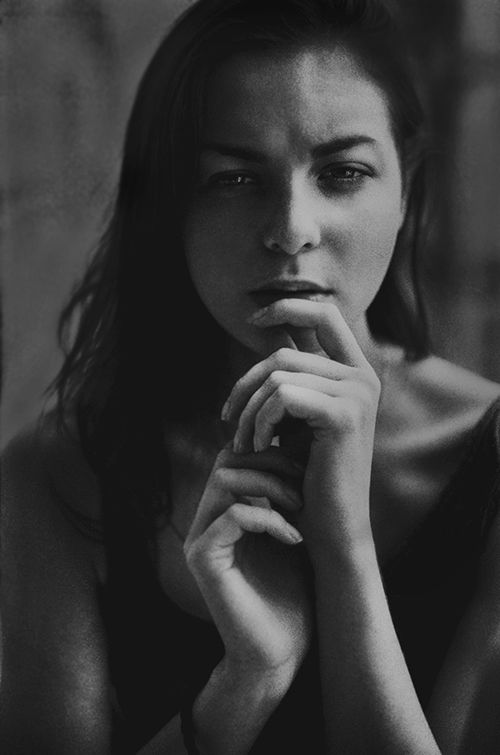 film black and white portret by Anna Gricevskaya