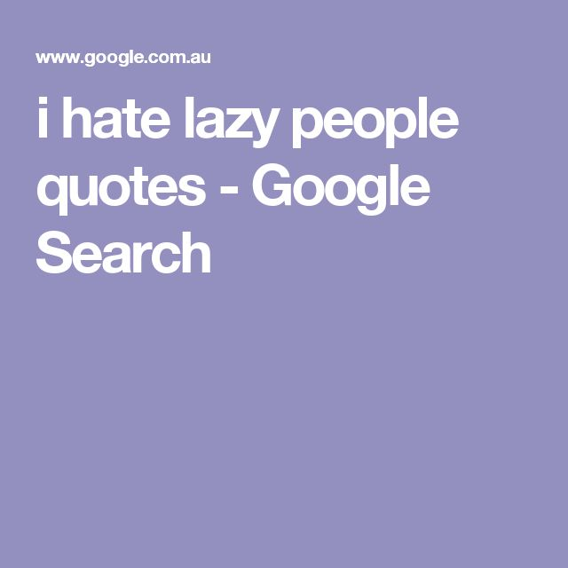 lazy people quotes - photo #28