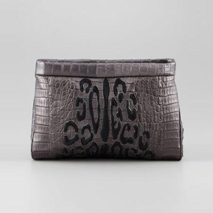 Gifts For Her: Leopard Clutch | Nancy Gonzalez