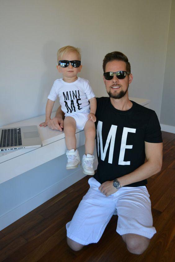 Outfits en conjunto para papá e hijo ¡Se verán increíbles! http://beautyandfashionideas.com/outfits-conjunto-papa-e-hijo-se-veran-increibles/