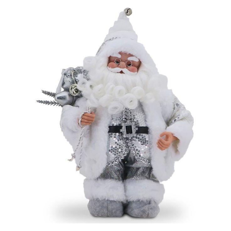 National Tree Company Musical Santa in Gold Jacket - TP-S151401MG