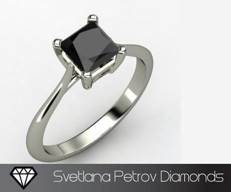 Anillo diamante negro... dream it!