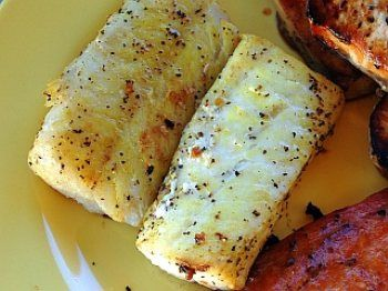 Lemon Grilled Catfish - low carb - I just made this and it is REALLY good!!! I added 1 tsp of Dijon mustard to the butter mix! YUM!