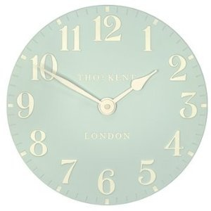 Thomas Kent Greenwich Wall Clock - 30cm Duck Egg Blue 12056: Amazon.co.uk: Kitchen & Home