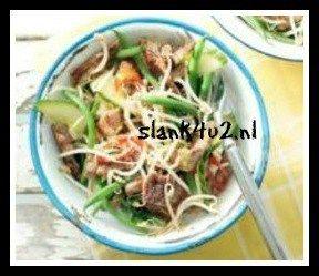 Thaise biefstuksalde met komkommer - Slank4u2