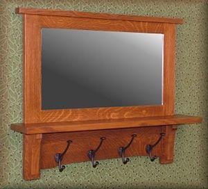 Mission, Arts and Crafts, Craftsman, Stickley, Old house, restoration, antique, shelf, shelves, wall shelf, wall shelves - Missionfurnishings.com, Doorbells, Medicine cabinets, mirrors, furniture