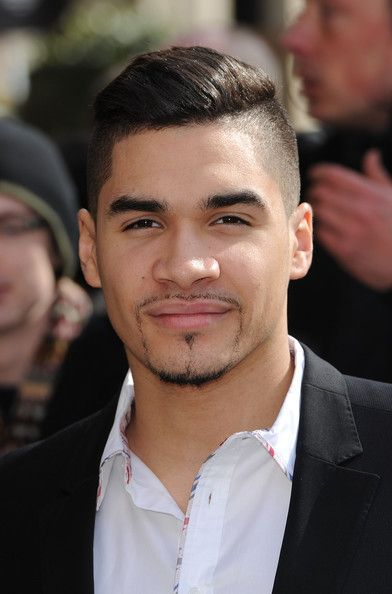 Louis Smith wearing the coeur Edge Shirt at the TRIC Awards 2013.  Available to buy from www.coeur.uk.com