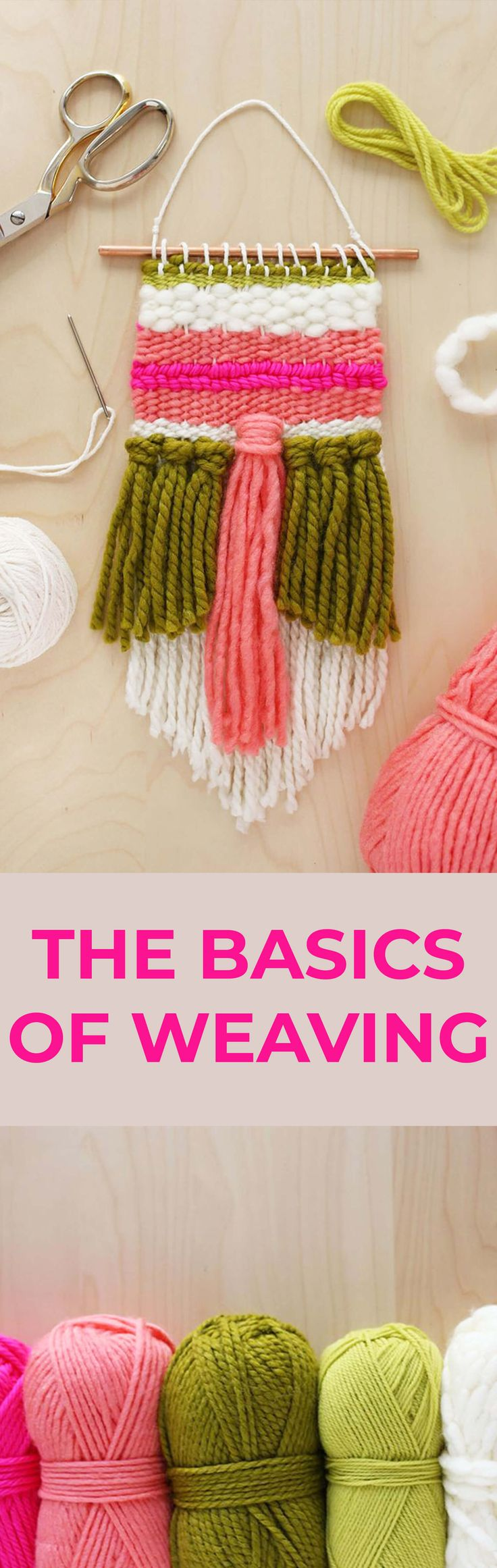Weaving Class: The Basics – A Beautiful Mess