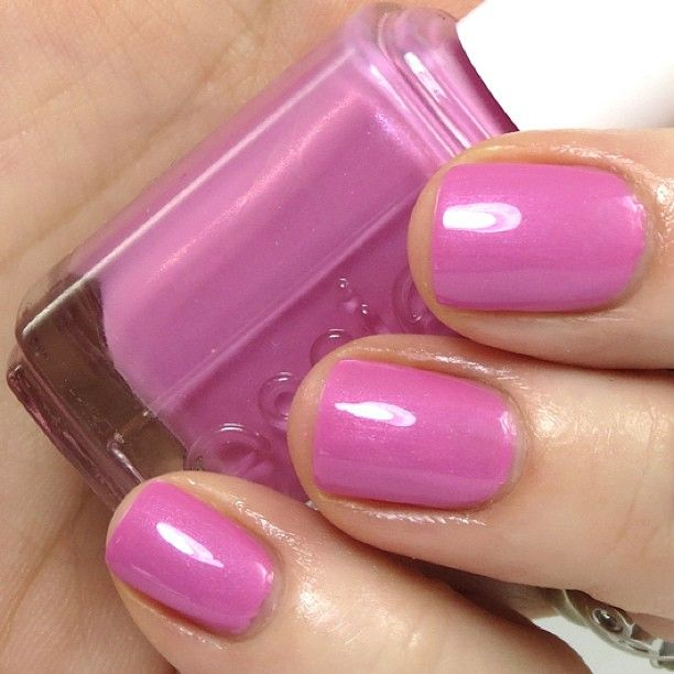 'my better half' shimmers in this subtle pink.