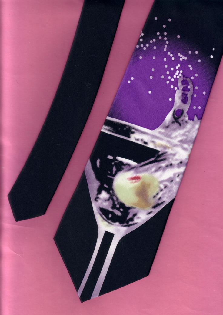 Martini necktie
