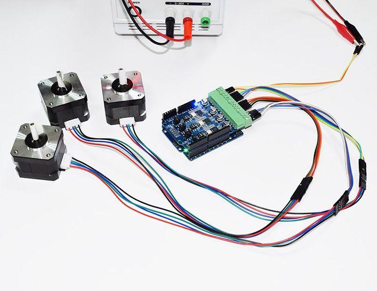 1000 Ideas About Motor Shield Arduino On Pinterest