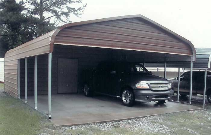 1000 ideas about metal carports on pinterest aluminum for Garage and carport combination