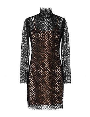 Alexander Wang Turtleneck Lace Dress