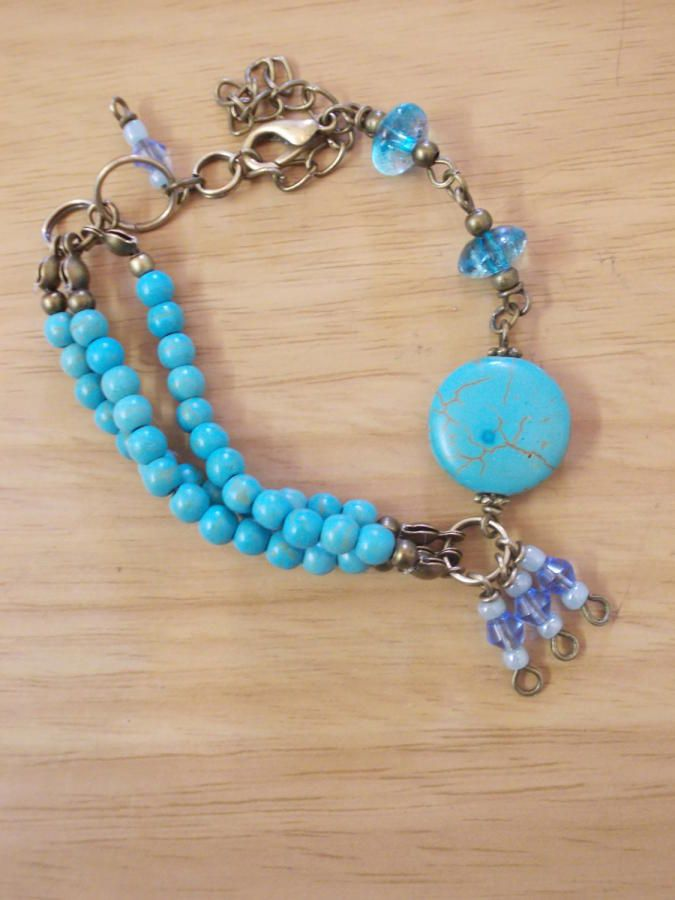 Turquoise Delight - Jewelry creation by Sarah Lane
