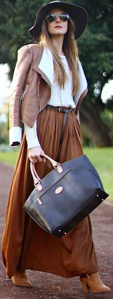 The Colt Leather Tote by Marilyn's Closet