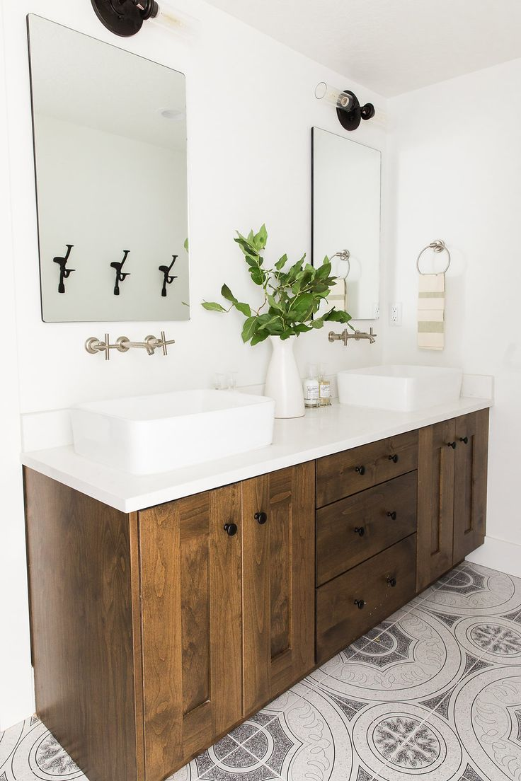 1242 best home bath images on pinterest bathroom for Small hall bathroom remodel ideas