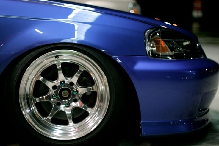 99 Honda Civic Tire Size