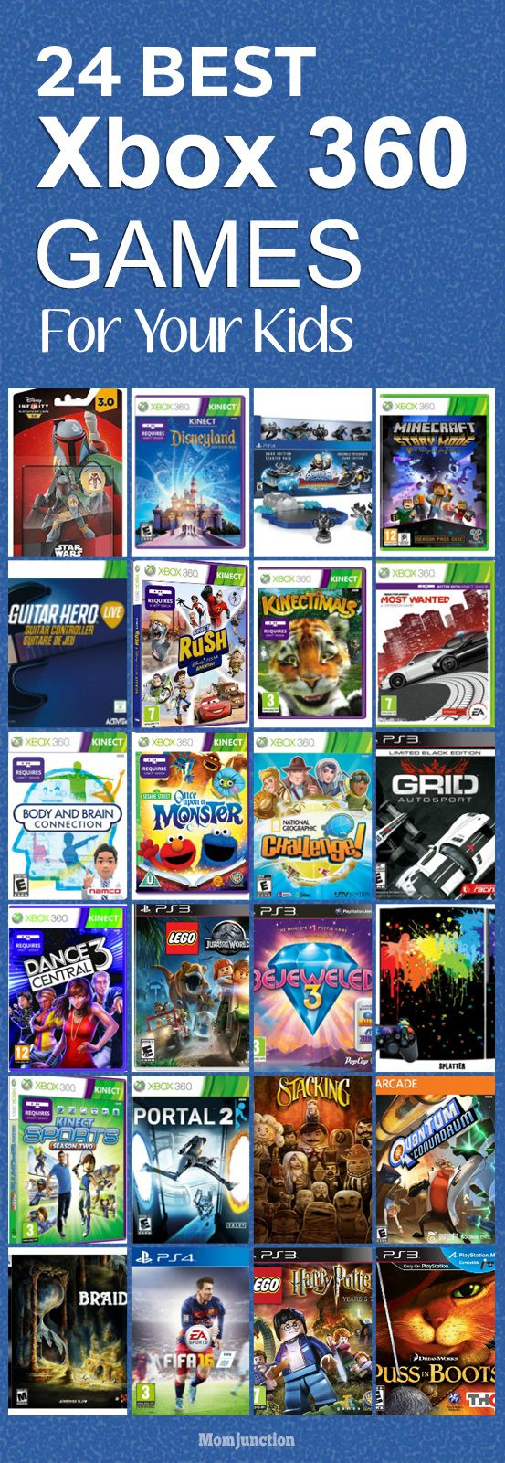 Top Xbox 360 Games : Best xbox games for kids ideas on pinterest man cave