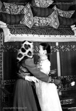 Bride bidding farewell (1969)