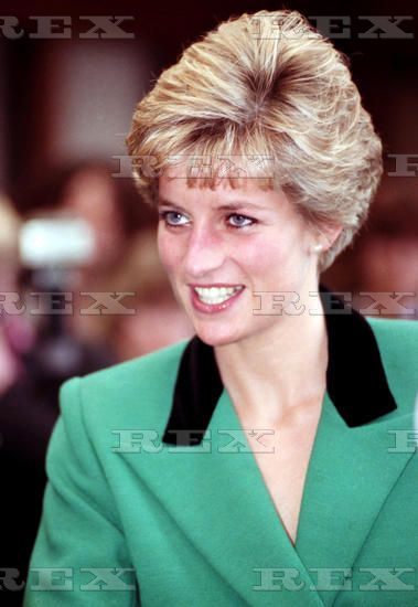 7 March 1991 Diana Princess Of Wales Pictured At Amongst The Crowds Outside Broadmoor Hospital Where She Was To Unveil A Plaque At The Official Opening Of The Oxford And Bedford Houses.