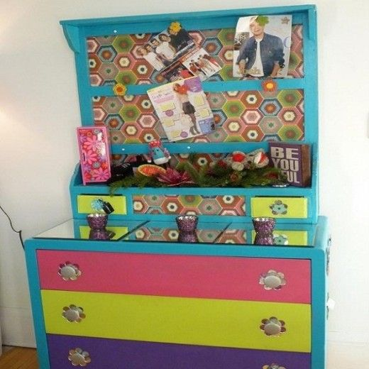 91 best images about girls bedroom on pinterest zebra for Diy bulletin board for bedroom