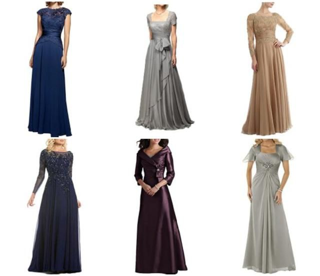 Fashion Advice for the Mother of the Bride: Keep the style of dress tasteful and appropriate