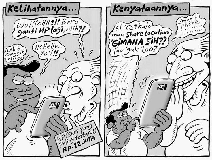 Mice Cartoon, Kompas Minggu - 16 Agustus 2015: Smartphone Baru