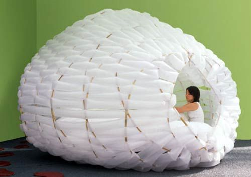 Inflateable living structure