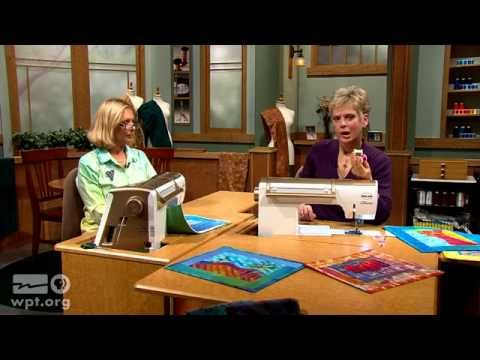 Art Quilts: Fusible Collage Workshop (Part 2 of 2) - SEWING WITH NANCY - YouTube