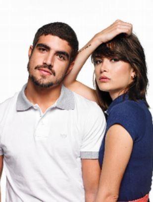 Caio castro e Maria Casedevall juntos em campanha (Foto: Divulgação)