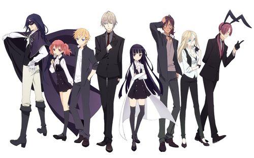 grafika anime, inu x boku ss, and inu x boku