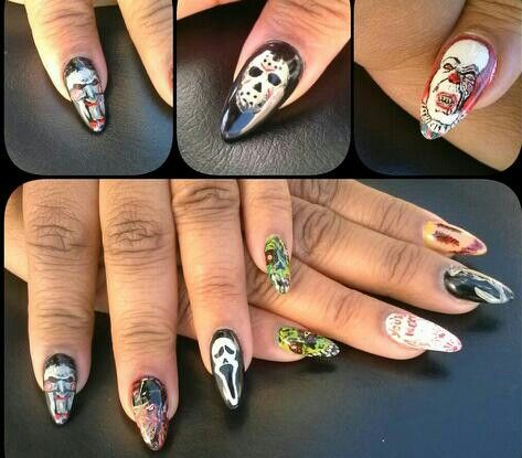 Horror Nail Art Best Nail Designs 2018