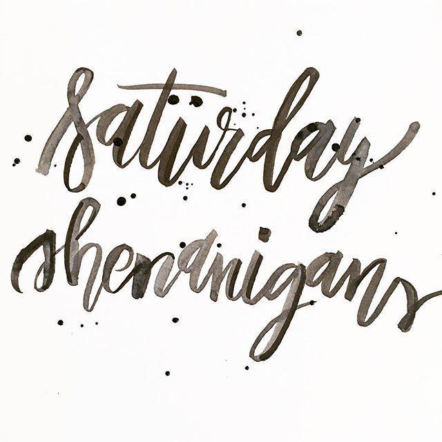 Saturday Shenanigans. http://www.augustandmaydesign.com