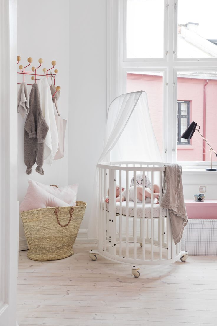 best stokke sleepi crib and system images on pinterest  - make a dreamy nursery space a reality with stokke sleepi mini crib