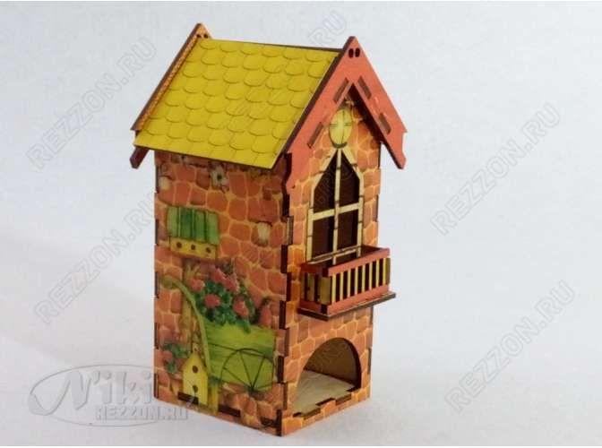 """Чайный домик """"В старинном замке""""/подарочный (1шт)"""