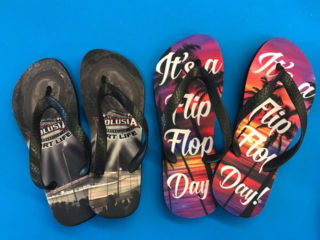f653c721b Sublimated Flip Flops!