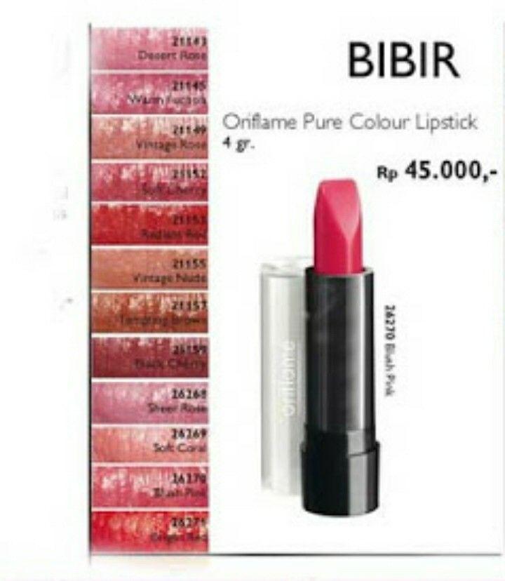 Oriflame Pure Colkour Lipstick~  4gr. Rp 45.000,-