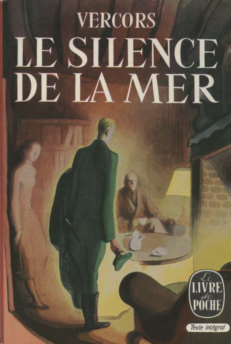 Illustration non créditée - Le silence de la mer, Vercors, Le Livre de Poche (1960) rééd 1969 - Probablement de Dignimont