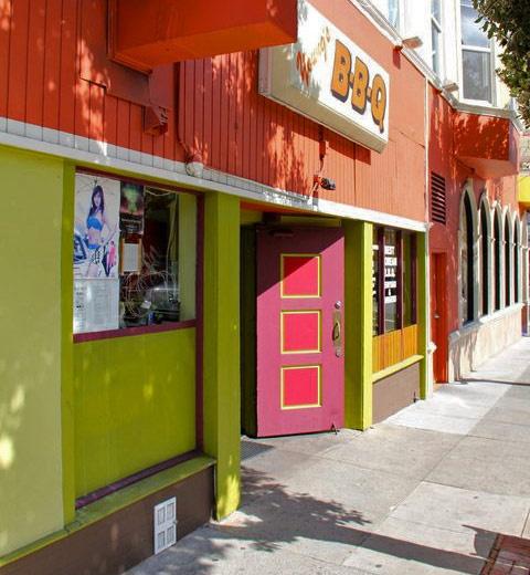 THE TINY DOORS OF SAN FRANCISCO