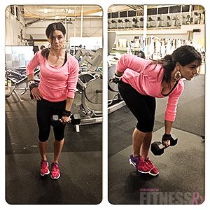 Building Glutes and Hamstrings: Two forms of stiff-leg deadlifts.