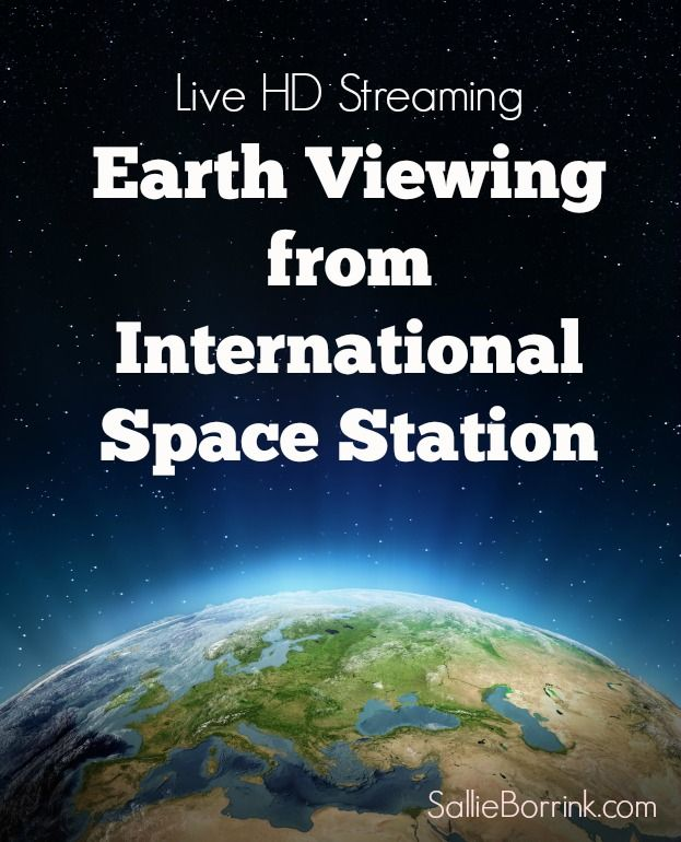 Live HD Earth Viewing from International Space Station - Watch it fly over your home and see where else it flies!